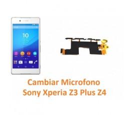 Cambiar micrófono Sony Xperia Z3 Plus Z4 - Imagen 1