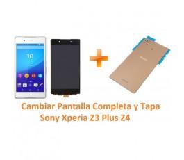 Cambiar pantalla completa y tapa Sony Xperia Z3 Plus Z4 - Imagen 1