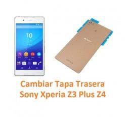 Cambiar tapa trasera Sony Xperia Z3 Plus Z4 - Imagen 1