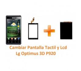 Cambiar Pantalla Táctil y Lcd Lg Optimus 3D P920 - Imagen 1