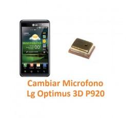 Cambiar Micrófono Lg Optimus 3D P920 - Imagen 1