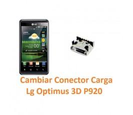 Cambiar Conector Carga Lg Optimus 3D P920 - Imagen 1