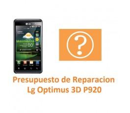 Presupuesto de Reparación Lg Optimus 3D P920 - Imagen 1
