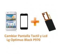 Cambiar Pantalla Táctil y Lcd Lg Optimus Black P970 - Imagen 1