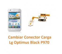 Cambiar Flex Conector Carga Lg Optimus Black P970 - Imagen 1