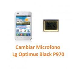 Cambiar Micrófono Lg Optimus Black P970 - Imagen 1