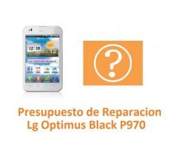Presupuesto de Reparación Lg Optimus Black P970 - Imagen 1