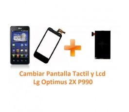Cambiar Pantalla Táctil y Lcd Lg Optimus 2X P990 - Imagen 1