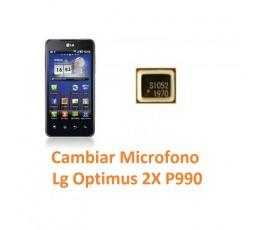 Cambiar Micrófono Lg Optimus 2X P990 - Imagen 1