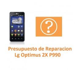 Presupuesto de Reparación Lg Optimus 2X P990 - Imagen 1