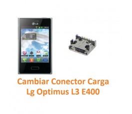 Cambiar Conector Carga Lg Optimus L3 E400 - Imagen 1