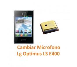 Cambiar Micrófono Lg Optimus L3 E400 - Imagen 1