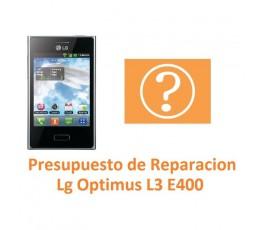 Presupuesto de Reparación Lg Optimus L3 E400 - Imagen 1