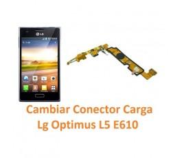 Cambiar Conector Carga Lg Optimus L5 E610 - Imagen 1