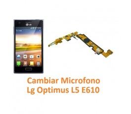 Cambiar Micrófono Lg Optimus L5 E610 - Imagen 1