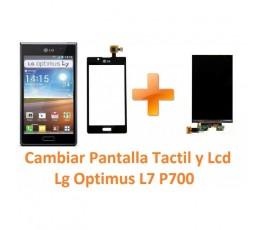 Cambiar Pantalla Táctil y Lcd Lg Optimus L7 P700 - Imagen 1