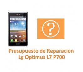 Presupuesto de Reparación Lg Optimus L7 P700 - Imagen 1