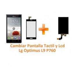 Cambiar Pantalla Táctil y Lcd Lg Optimus L9 P760 - Imagen 1