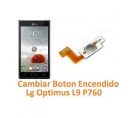 Cambiar Botón Encendido Lg Optimus L9 P760 - Imagen 1