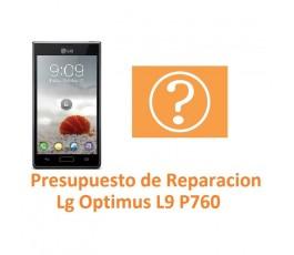 Presupuesto de Reparación Lg Optimus L9 P760 - Imagen 1