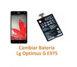 Cambiar Batería Lg Optimus G E975 - Imagen 1