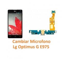 Cambiar Micrófono Lg Optimus G E975 - Imagen 1