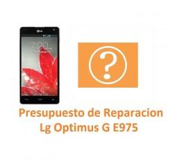 Presupuesto de Reparación Lg Optimus G E975 - Imagen 1