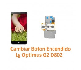 Cambiar Botón Encendido Lg Optimus G2 D802 - Imagen 1