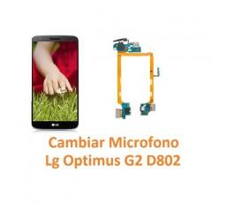 Cambiar Micrófono Lg Optimus G2 D802 - Imagen 1