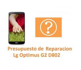Presupuesto de Reparación Lg Optimus G2 D802 - Imagen 1