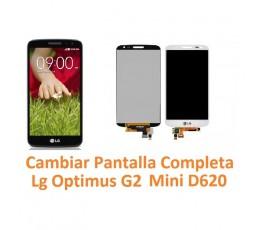 Cambiar Pantalla Completa Lg Optimus G2 Mini D620 - Imagen 1