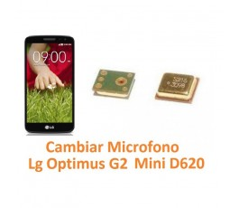 Cambiar Micrófono Lg Optimus G2 Mini D620 - Imagen 1