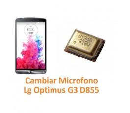 Cambiar Micrófono Lg Optimus G3 D855 - Imagen 1