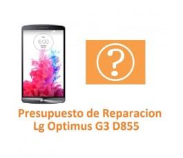 Presupuesto de Reparación Lg Optimus G3 D855 - Imagen 1