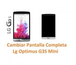 Cambiar Pantalla Lcd Lg Optimus G3S Mini D722 - Imagen 1