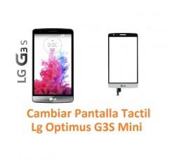 Cambiar Pantalla Táctil Cristal Lg Optimus G3S Mini D722 - Imagen 1