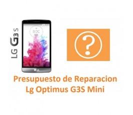 Presupuesto de Reparación Lg Optimus G3s Mini D722 - Imagen 1