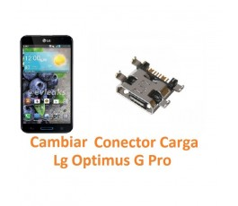 Cambiar Conector Carga para Lg Optimus G Pro E980 E986 E988 - Imagen 1