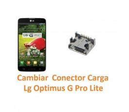 Cambiar Conector Carga para Lg Optimus G Pro Lite D680 - Imagen 1
