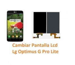 Cambiar Pantalla Lcd para Lg Optimus G Pro Lite D680 - Imagen 1