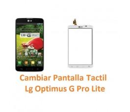Cambiar Pantalla Táctil para Lg Optimus G Pro Lite D680 - Imagen 1