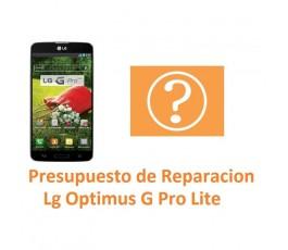 Presupuesto de Reparación para Lg Optimus G Pro Lite D680 - Imagen 1