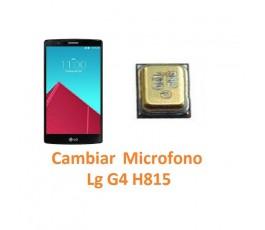 Cambiar Micrófono Lg G4 H815 - Imagen 1