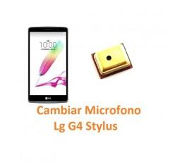 Cambiar Micrófono Lg G4 Stylus H635 - Imagen 1