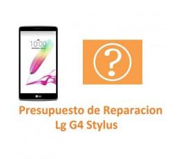 Presupuesto de Reparación para Lg G4 Stylus H635 - Imagen 1