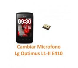 Cambiar Micrófono Lg Optimus L1-II E410 - Imagen 1