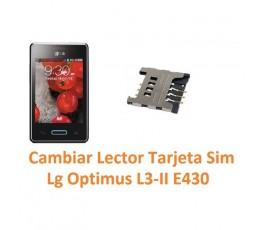 Cambiar Lector Tarjeta Sim Lg Optimus L3-II E430 - Imagen 1
