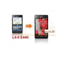 Cambiar Pantalla Tactil (cristal) LG Optimus L4-II E440 - Imagen 1