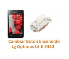 Cambiar Botón Encendido Lg Optimus L4-II E440 - Imagen 1