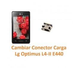 Cambiar Conector Carga Lg Optimus L4-II E440 - Imagen 1